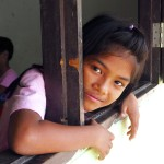 Student at the Burmese Learning Center in Kuraburi