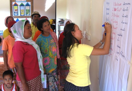 Community Homestay Training for the families of Ban Talae Nok Thailand