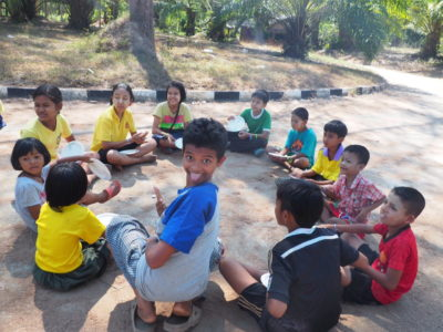Game Day at Burmese Learning Center Kuraburi