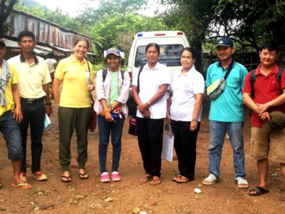 empowering communities by recruiting new students for the migrant education program in Kuraburi Thailand