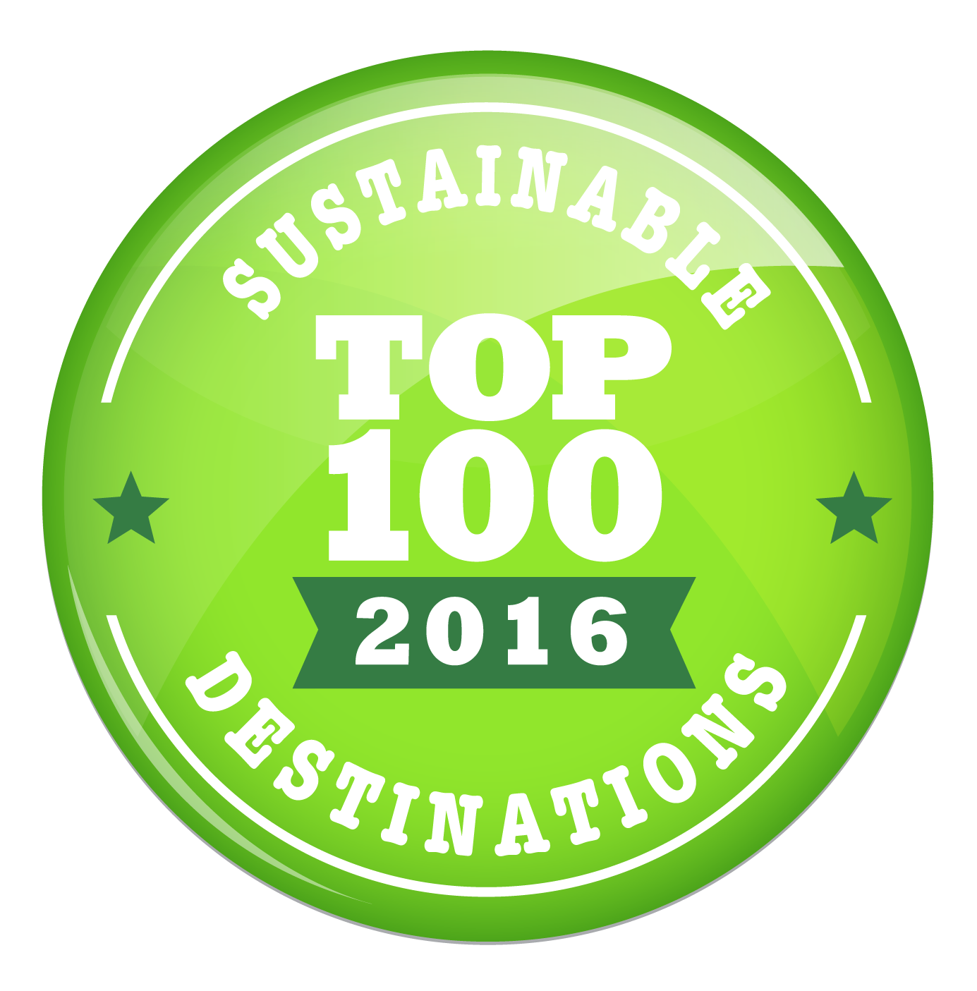 Sustainable Top 100 Green Destinations 2016