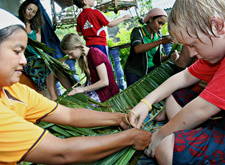 Nipa Palm Weaving