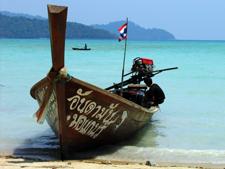 Koh Surin Tour Longtail Boat